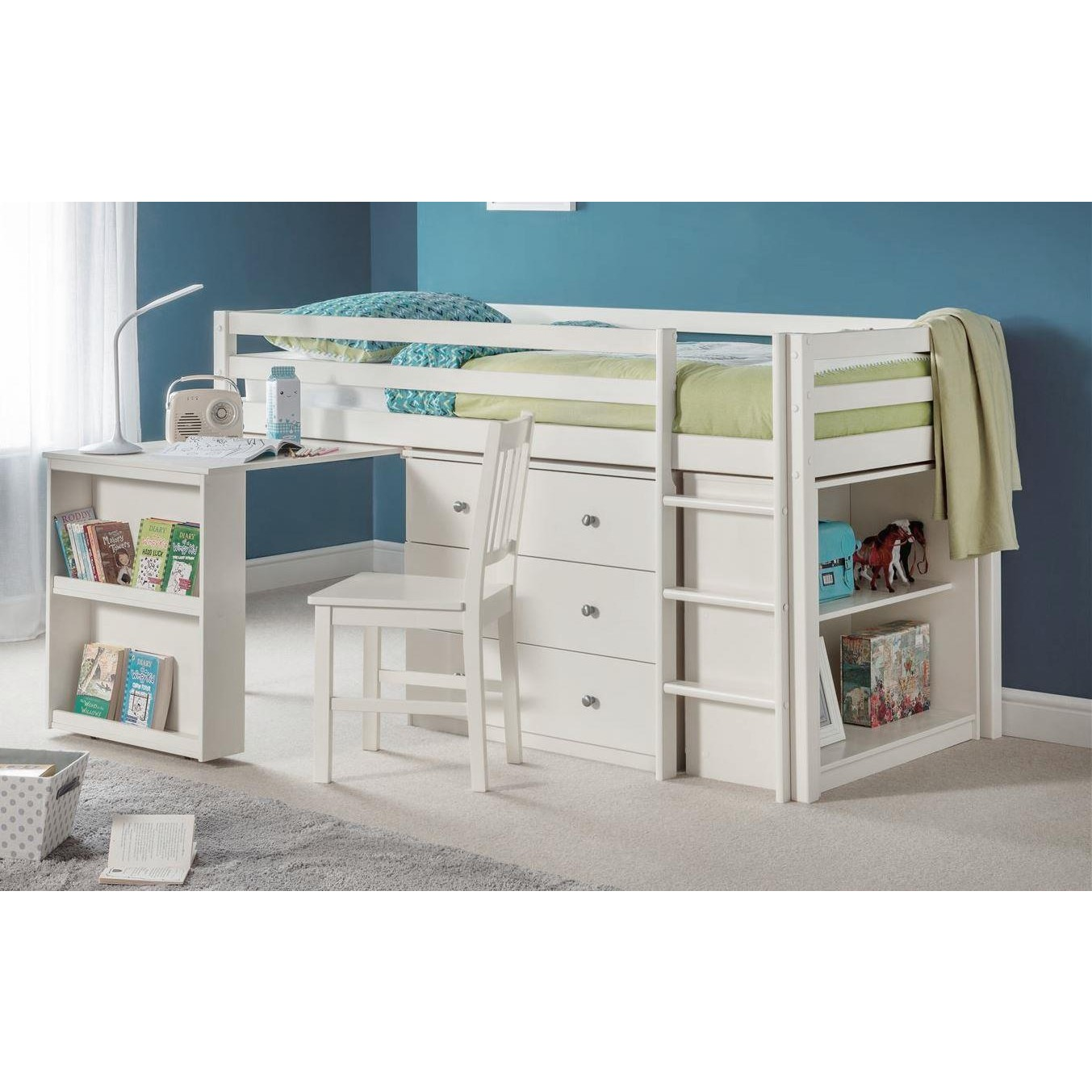 Modern Home Roxy Sleepstation White Free Next Day Delivery