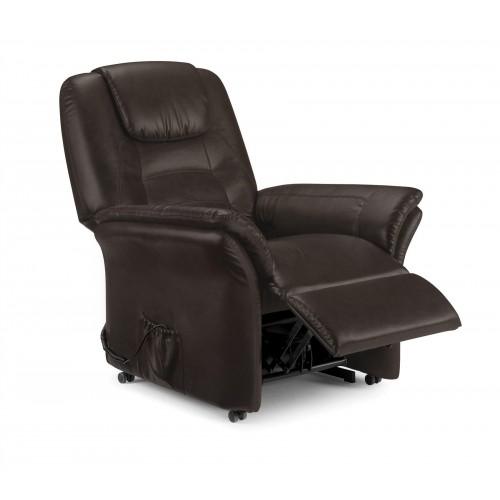 Riva Rise & Recline Chair Cappuccino Chenille