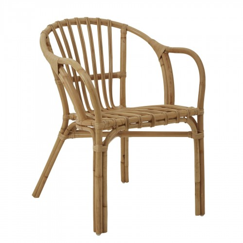 Havana Low Armchair Rattan Natural