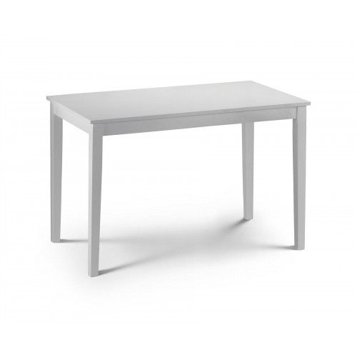 Taku Dining Table - Satin White