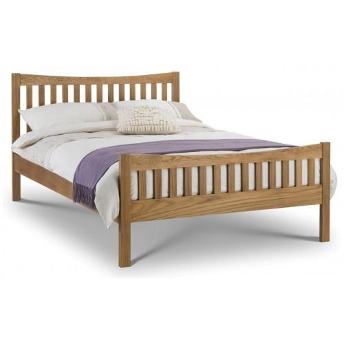 Bergamo Solid Oak Bed