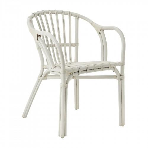 Havana Low Armchair Rattan White
