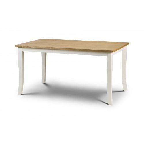 Davenport Oak/White Dining Table