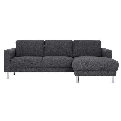 Cleveland Chaiselongue Sofa (RH) in Nova Antracit