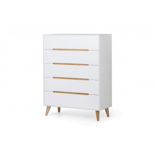 Alicia 5 Drawer Chest of Drawers