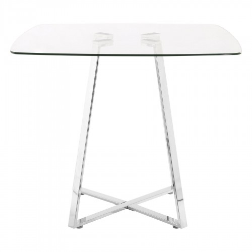 Metropolitan Dining Table Glass Square