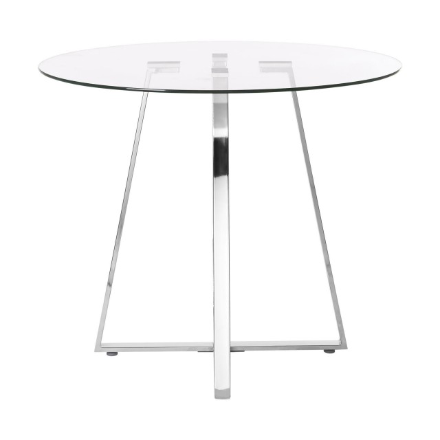 Brilliant Metropolitan Dining Table Glass Round Pabps2019 Chair Design Images Pabps2019Com
