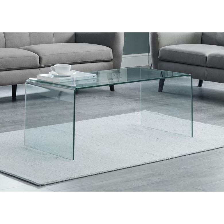 Glass Coffee Tables Next: Amalfi Bent Glass Coffee Table