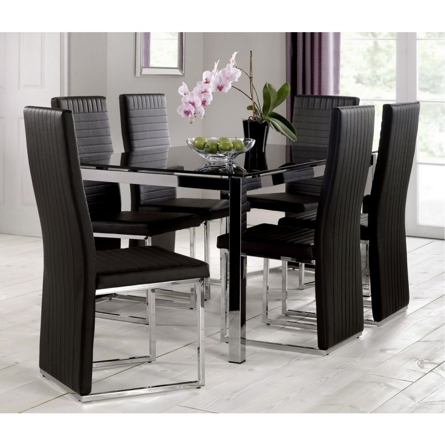 Modern Home Tempo Glass Dining Table Amp Chairs Free