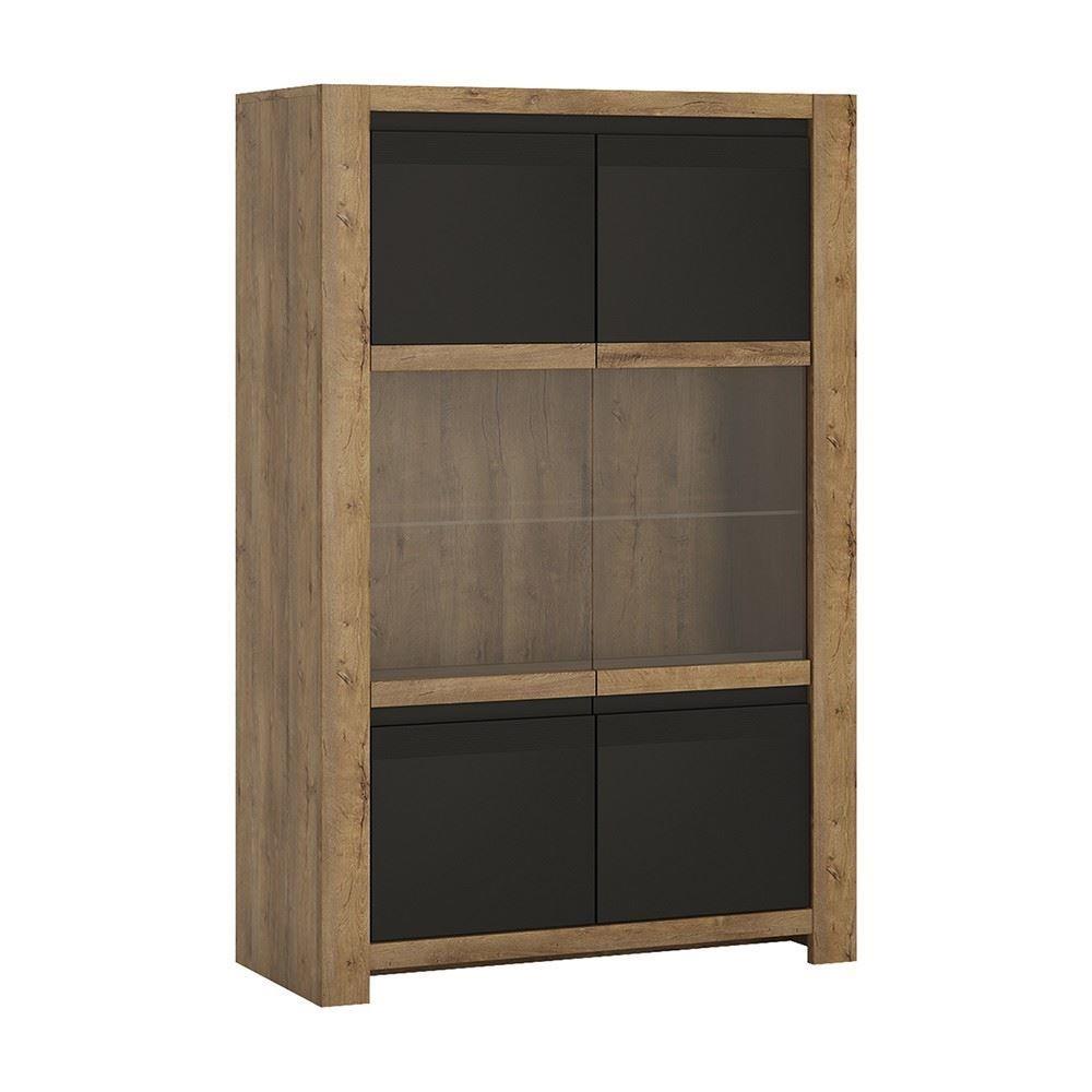 Modern Home Havana 2 Door Display Cabinet Free Next