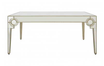 Warwickshire Dining Table Champagne Finish