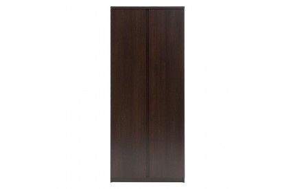 Pello 2 Door Wardrobe in Dark Mahogany