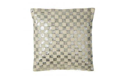 Buckingham Townhouse Cushion Checkerboard Design Wool Mix