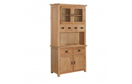 Erling Solid Oak Hutch 2 Doors