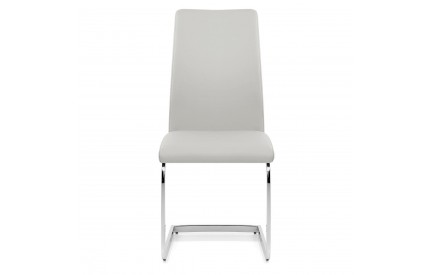 Grey Leather Chair (2s)