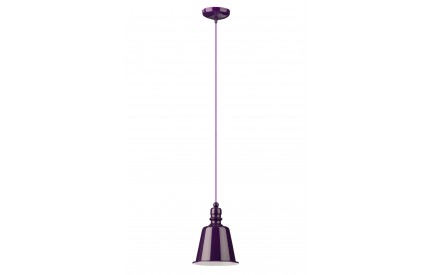 Pagoda Pendant Light Purple