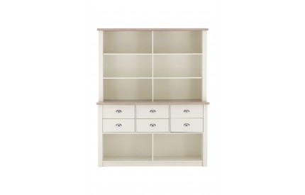 St Ives Dresser Buffet Hutch Cabinet White