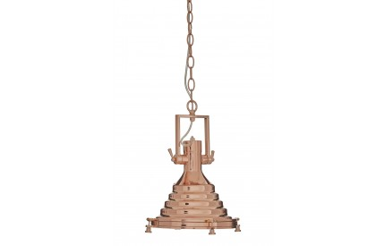 Lexwork Pendant Light Copper/Glass Small