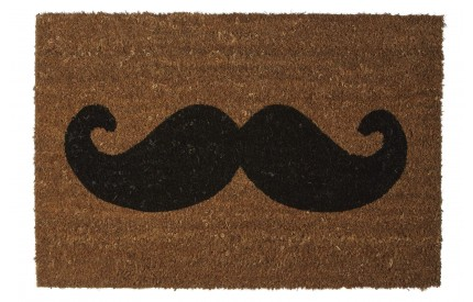 Moustache Doormat PVC Backed Coir