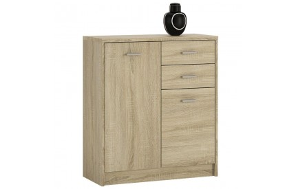 4 You 2 Door 2 Drawer Cupboard in Sonama Oak