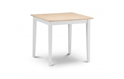 Rufford 2-Tone Dining Table Ivory/Natural