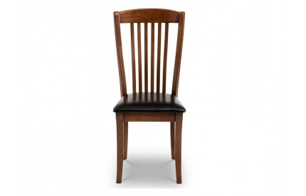 Canterbury Mahogany Accent Chair Assembled