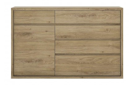 Shetland 1 Door 5 Drawer Sideboard