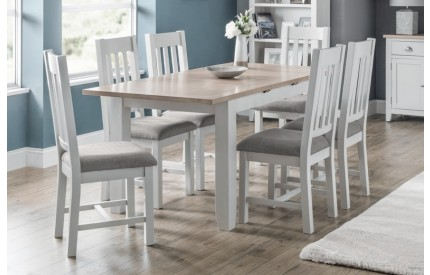 Richmond 2 Tone Extending Grey Oak Dining Set