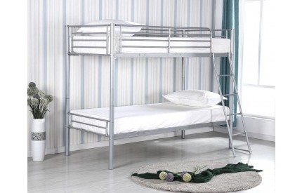 Simbo Bunk Bed Silver