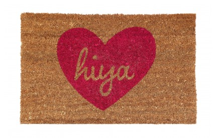 Hiya Doormat PVC Backed Coir