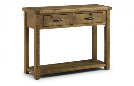 Aspen Console Table With 2 Drawers Assembled