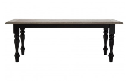 Buckingham Townhouse Dining Table Oak Top