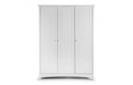 Whitley White Pine Wardrobe 3 Door