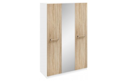 Orio 3 Door Mirrored Wardrobe