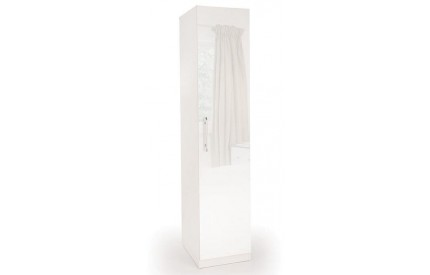 Charms High Gloss 1 Door Wardrobe