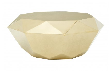 Allure Coffee Table Champagne Gold Stainless Steel