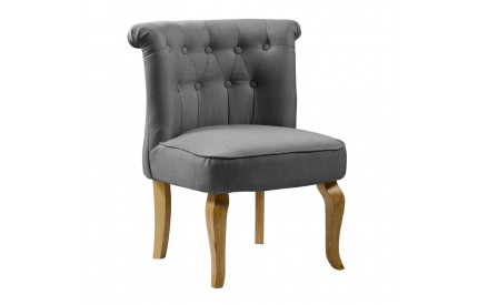 Bridgestone Fabric Chair Grey