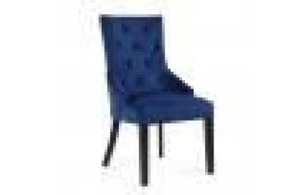 Chester Brushed Velvet Ocean Blue Accent Chair