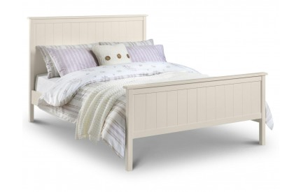 Harmony Stone White Bed