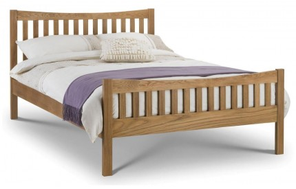 Bergamo Solid Oak Bed