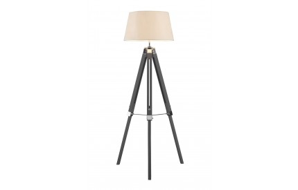 Bailey Floor Lamp Grey / Tripod