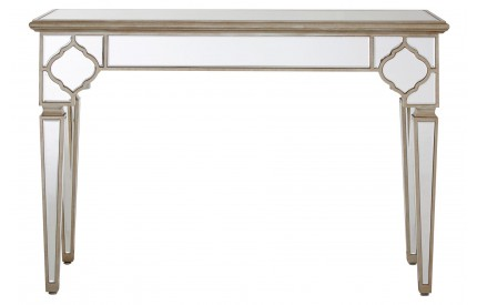 Medina Console Table MDF  Mirrored Glass
