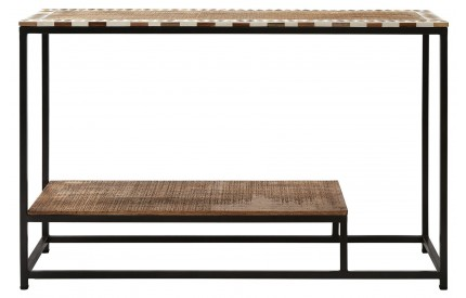 Creative Console Table Mango Wood Iron
