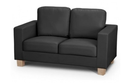 Black 2 Seater Sofa