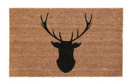Stag Doormat PVC Backed Coir