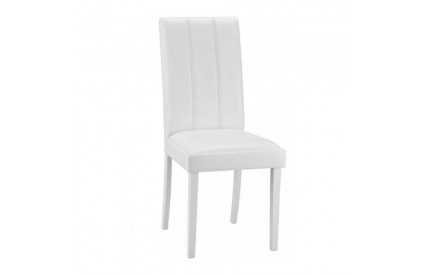 Horseshoe Dining Chairs White