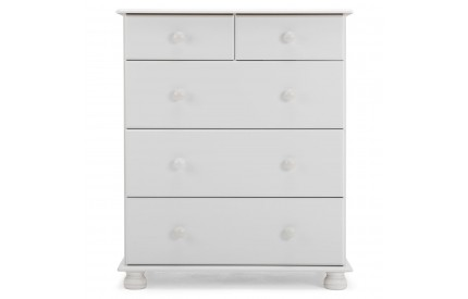 Copenhagen 2 + 3 Deep Drawer Chest in White
