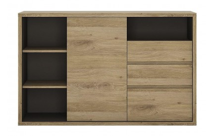 Shetland 1 Door 3 Drawer Sideboard