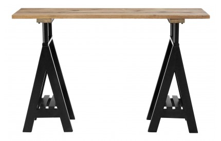 Sherlock Console Table Pine Wood / Iron
