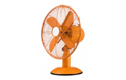 Desk Fan 3 Speeds Orange